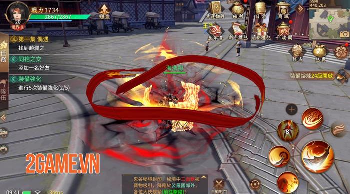 Cửu Kiếm 3D - Siêu phẩm game kiếm hiệp 9 phái của SohaGame lộ diện 5