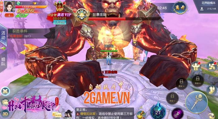 Chờ Hoa Thiên Kiếp Mobile ra mắt quá lâu nhiều người đành chơi thử bản ngoại 1