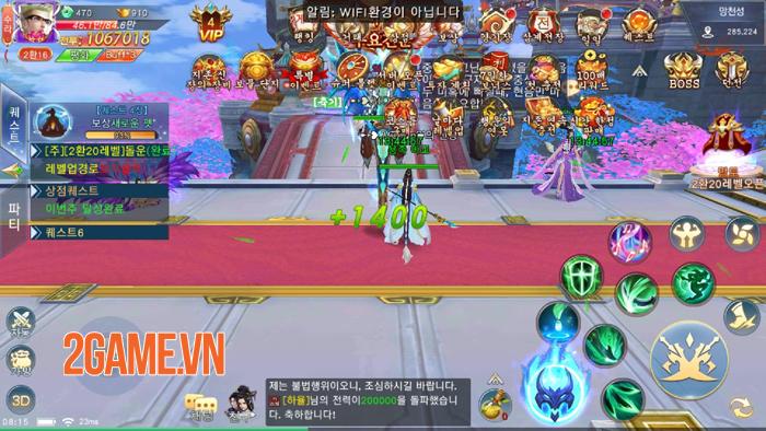 Chờ Hoa Thiên Kiếp Mobile ra mắt quá lâu nhiều người đành chơi thử bản ngoại 3