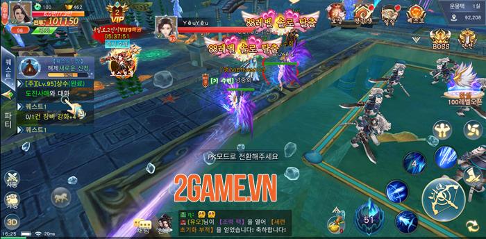 Chờ Hoa Thiên Kiếp Mobile ra mắt quá lâu nhiều người đành chơi thử bản ngoại 6