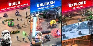 LEGO Star War Battles – Game chiến thuật bối cảnh vũ trụ Star War với đồ hoạ LEGO lạ mắt