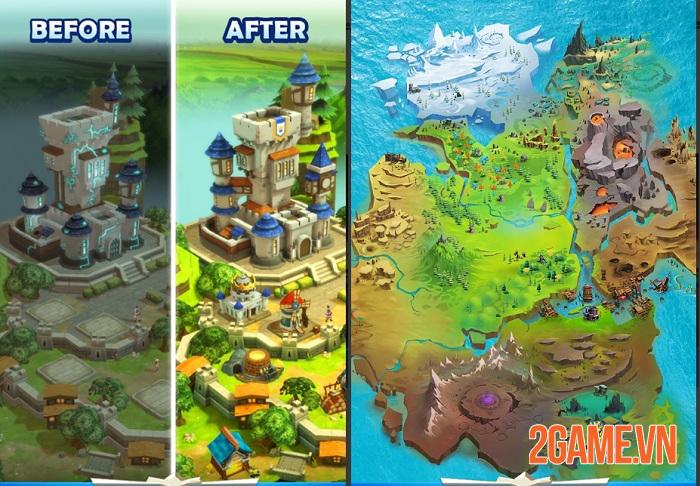 Quest and Kingdoms - Game nhập vai thẻ bài kết hợp chiến thuật có sức hấp dẫn đặc biệt 0