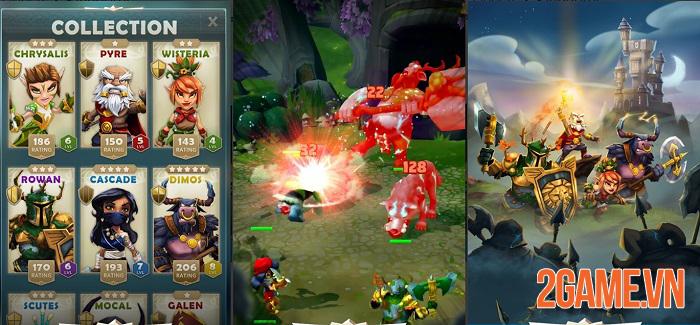 Quest and Kingdoms - Game nhập vai thẻ bài kết hợp chiến thuật có sức hấp dẫn đặc biệt 1