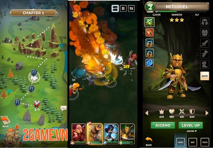 Quest and Kingdoms - Game nhập vai thẻ bài kết hợp chiến thuật có sức hấp dẫn đặc biệt 2