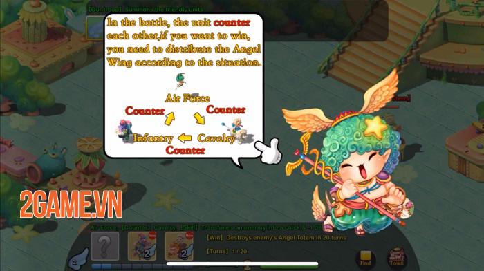 Angel Town 4 - Game nhập vai dàn trận sở hữu 5 chế độ chơi đa dạng 1