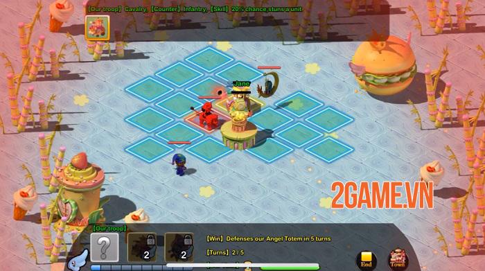 Angel Town 4 - Game nhập vai dàn trận sở hữu 5 chế độ chơi đa dạng 3