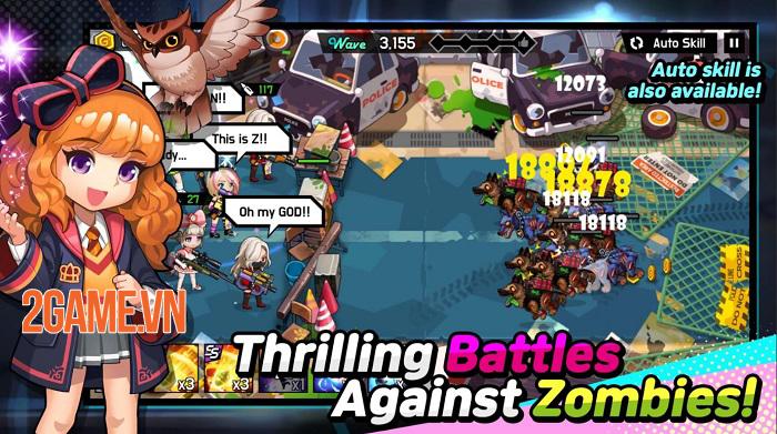 Girl's War Z - Game nhập vai phong cách gacha lấy bối cảnh tận thế zombie 2