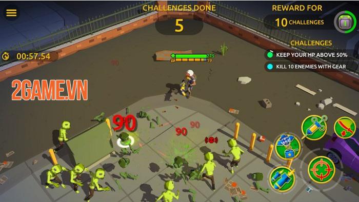 Zombie Blast Crew mang đến lối chơi bắn súng hành động tiết tấu nhanh 0