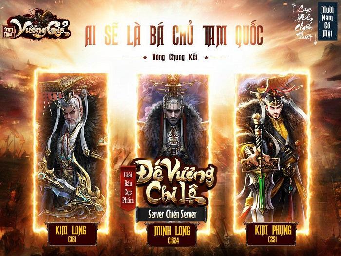 Tân Hoàng Đế của giải đấu Đế Vương Chi Lộ trong Tam Quốc Vương Giả chính thức lộ diện 2