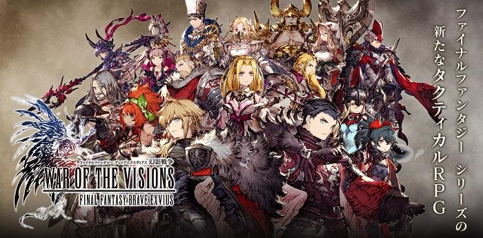 War of the Visions: Final Fantasy Brave Exvius - Game nhập vai với hệ thống chiến thuật 3D hoành tráng 0