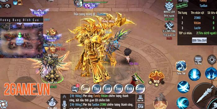 Tinh Vân Kiếm Mobile: Tất cả tính năng bồi dưỡng đều giúp nhân vật thay hình đổi dạng 1