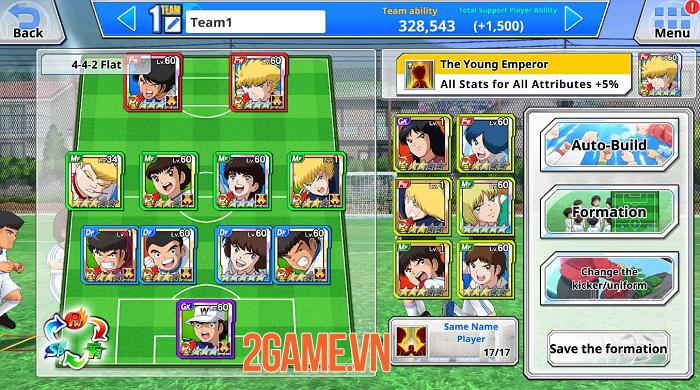 Game bóng đá Captain Tsubasa ZERO Mobile ra mắt toàn cầu 0
