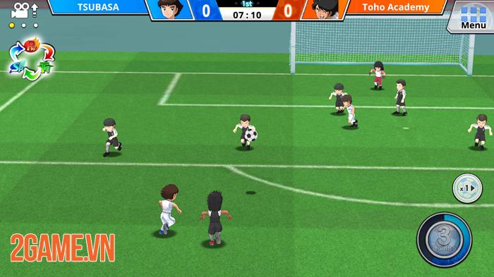 Game bóng đá Captain Tsubasa ZERO Mobile ra mắt toàn cầu 2