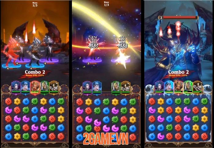Deck Heroes: Puzzle RPG - Sự kết hợp hoàn hảo giữa nhập vai, xếp hình và xây dựng căn cứ 0