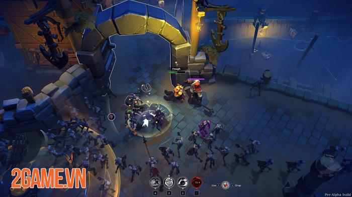 Darksburg - Game có nhiều nét giống Left 4 Dead và vay mượn nhiều yếu tố MOBA 2