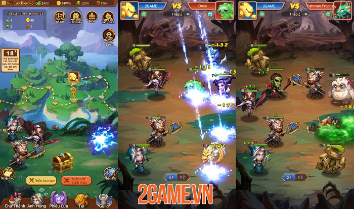 Game mới Chiến Hồn Bộ Lạc Mobile cập bến làng game Việt 2
