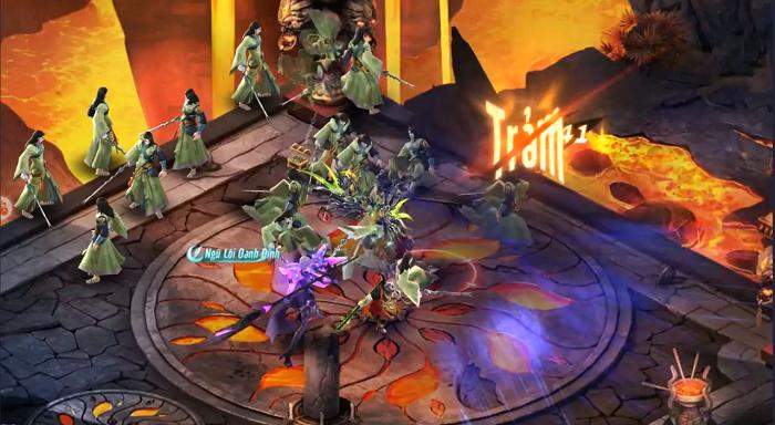 Game nhập vai Tinh Vân Kiếm Mobile vừa nhẹ lại vừa nhiều tính năng 1