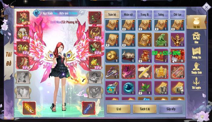 Dân cày có thể sống khỏe, PK sướng tay trong Kiếm Tung 3D Mobile 3