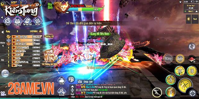 Dân cày có thể sống khỏe, PK sướng tay trong Kiếm Tung 3D Mobile 4