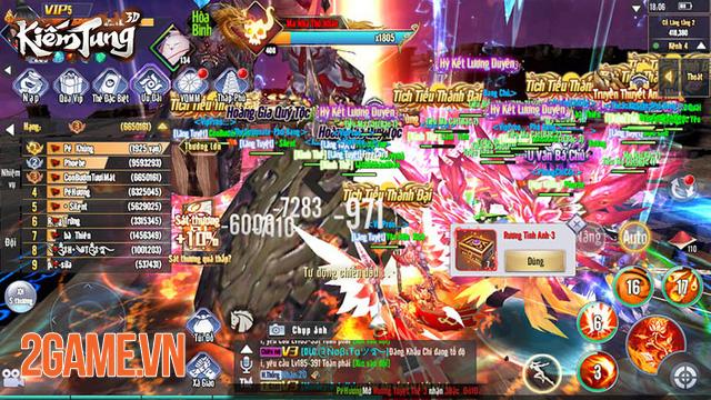 Dân cày có thể sống khỏe, PK sướng tay trong Kiếm Tung 3D Mobile 5