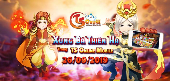 TS Online Mobile ấn định thời gian ra mắt bản Closed Beta không reset 0