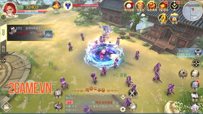 Game nhập vai PK 24/24 Lan Lăng Vương 3D Mobile cập bến Việt Nam 6