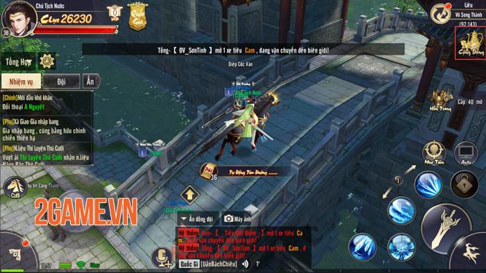 Tiêu Dao Mobile khiến người chơi căng thẳng từng phút khi làm nhiệm vụ quốc gia 9