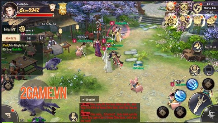 Tiêu Dao Mobile khiến người chơi căng thẳng từng phút khi làm nhiệm vụ quốc gia 2