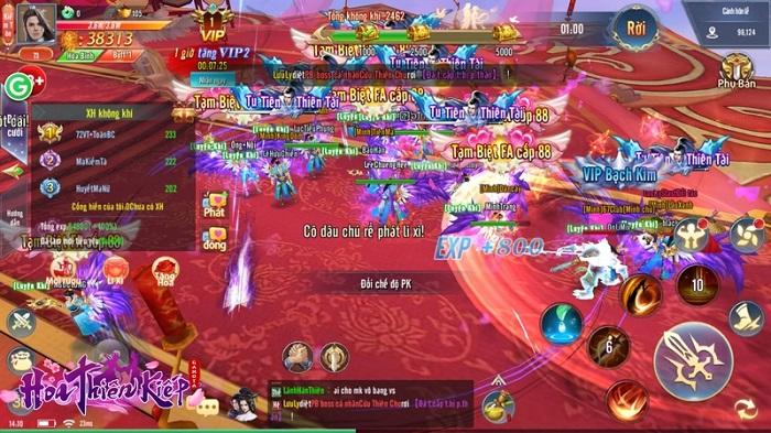 """Game thủ Hoa Thiên Kiếp náo nức rủ nhau đi ăn cưới được tổ chức """"như thật"""" 4"""