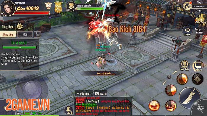 Tiêu Dao Mobile khiến người chơi căng thẳng từng phút khi làm nhiệm vụ quốc gia 3