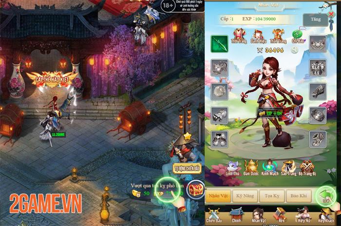 Game kiếm hiệp đa nền tảng Thiên Hạ Ngũ Tuyệt sắp đến tay game thủ Việt 2