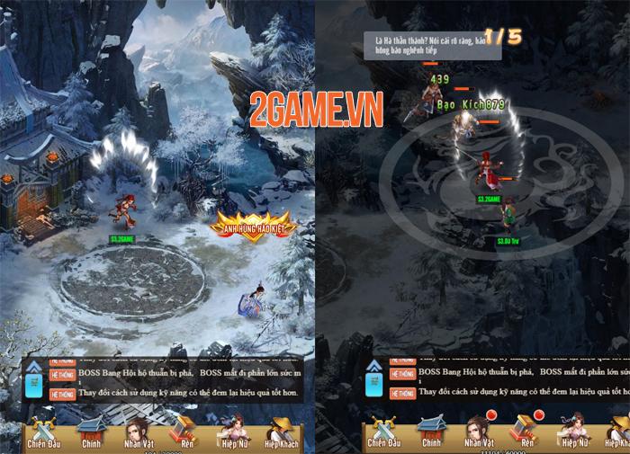 Game kiếm hiệp đa nền tảng Thiên Hạ Ngũ Tuyệt sắp đến tay game thủ Việt 3