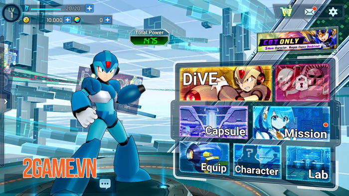 Mega Man X DiVE được cải tiến đẹp hơn nhưng vẫn giữ được sự quen thuộc 1