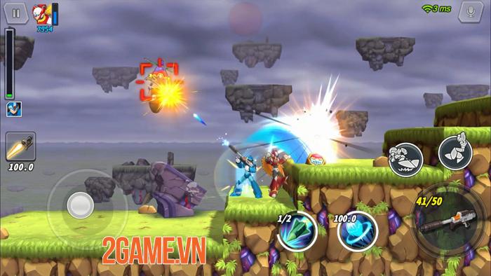 Mega Man X DiVE được cải tiến đẹp hơn nhưng vẫn giữ được sự quen thuộc 6