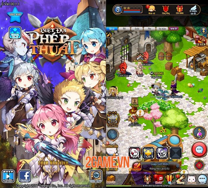 Game triệu lượt tải Biệt Đội Phép Thuật hé lộ những hình ảnh Việt hoá đầu tiên 0