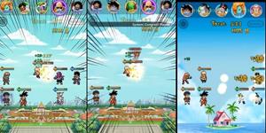 Pixel Fighter: Dragon Power – Idle RPG lấy bối cảnh manga 7 viên ngọc rồng