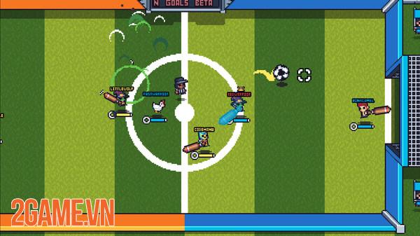 Guts And Goals - Game đá bóng đối kháng