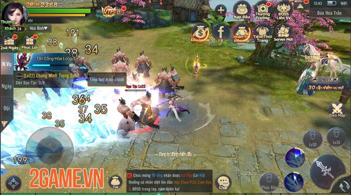 Phong Thần Truyện sở hữu hệ thống gameplay đồ sộ với tốc độ cày cấp cực nhanh 3