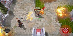 Robots Battle Arena lấy đề tài cuộc chiến giữa các robot ở thời tương lai
