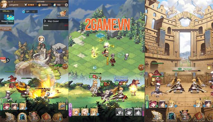 AURA Fantasy đem đến lối chơi Idle RPG đơn giản nhưng đầy cuốn hút 4