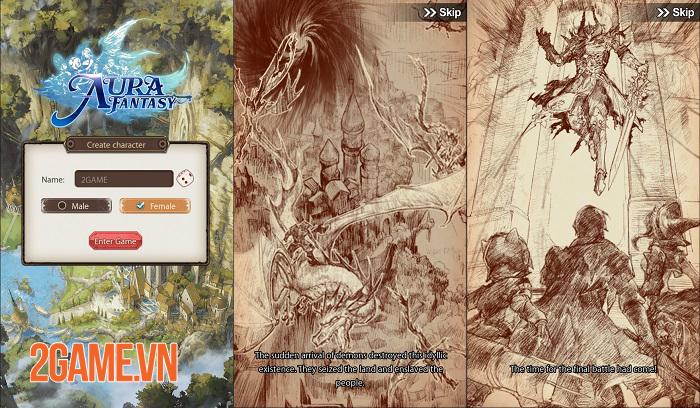 AURA Fantasy đem đến lối chơi Idle RPG đơn giản nhưng đầy cuốn hút 0