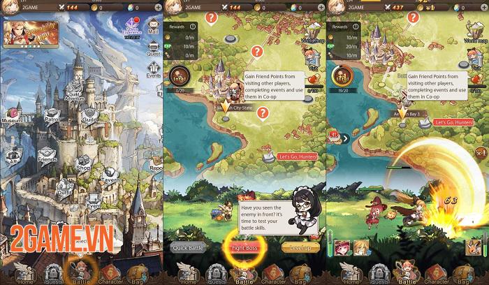AURA Fantasy đem đến lối chơi Idle RPG đơn giản nhưng đầy cuốn hút 2