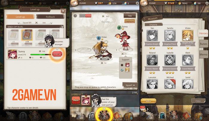 AURA Fantasy đem đến lối chơi Idle RPG đơn giản nhưng đầy cuốn hút 3