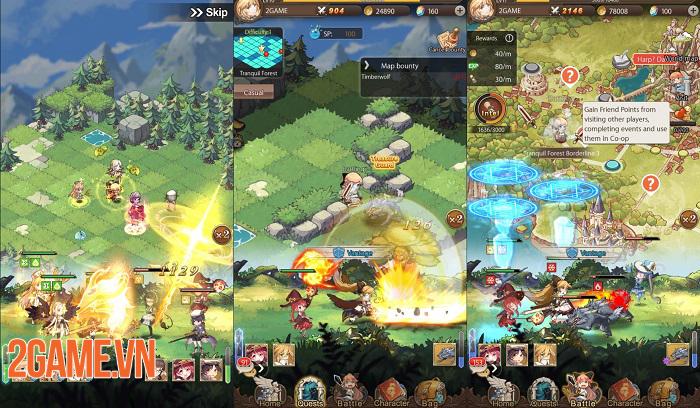 AURA Fantasy đem đến lối chơi Idle RPG đơn giản nhưng đầy cuốn hút 5