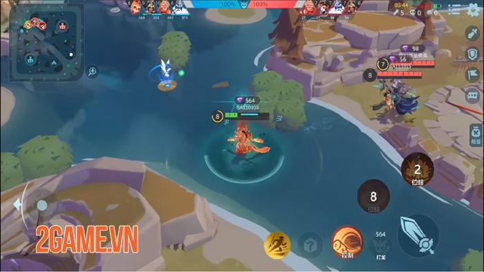 Shining Arena - Game MOBA di động thú vị combat liên tục mà không cần farm lính 2