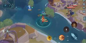 Shining Arena – Game MOBA di động thú vị combat liên tục mà không cần farm lính