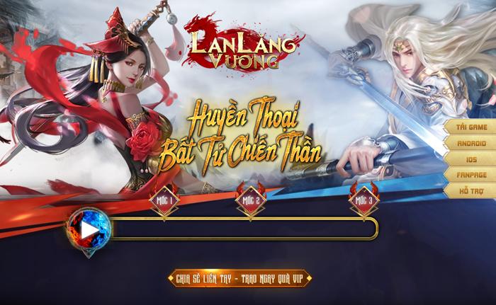 Lan Lăng Vương Mobile ra mắt trang chủ, hẹn mở game vào tháng 10 0