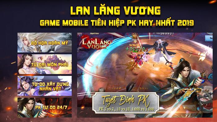 Lan Lăng Vương Mobile ra mắt trang chủ, hẹn mở game vào tháng 10 2