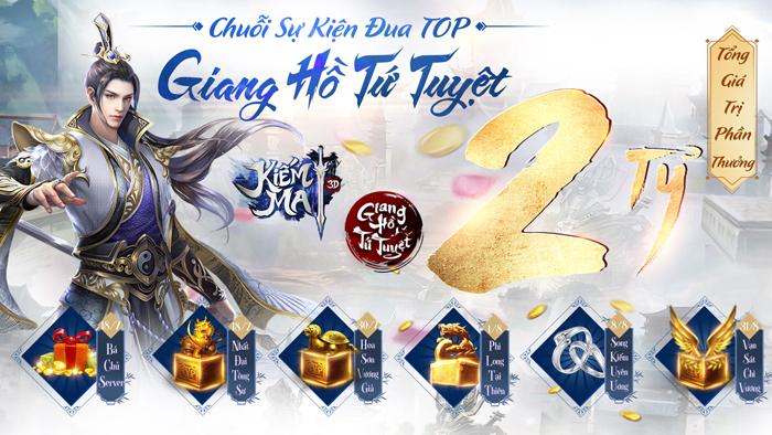 Kiếm Ma 3D phát động giải đấu với giải thưởng lên tới 800 triệu đồng 0
