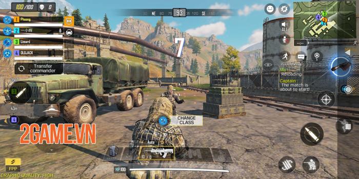 Call of Duty Mobile hội tụ những gì hay nhất của dòng MMOFPS truyền thống 2